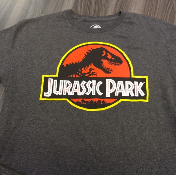 Jurassic Park Other - JURASSIC PARK T-SHIRT 👕 Movie Book Logo Dinosaurs
